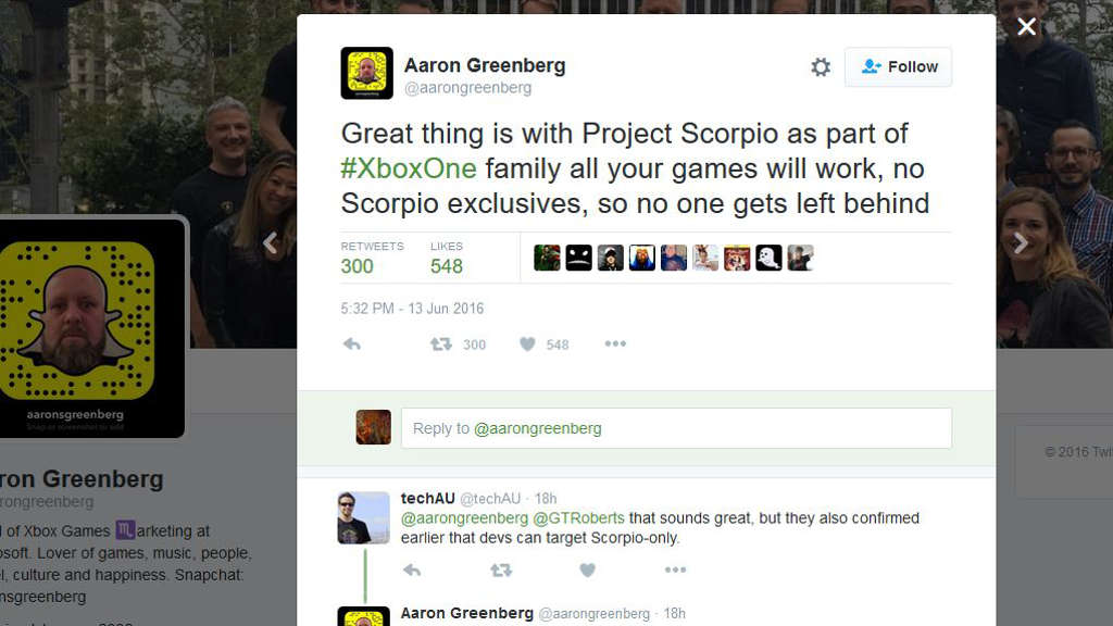 aaron-greenberg-twitter-no-scorpio-exclusives.JPG