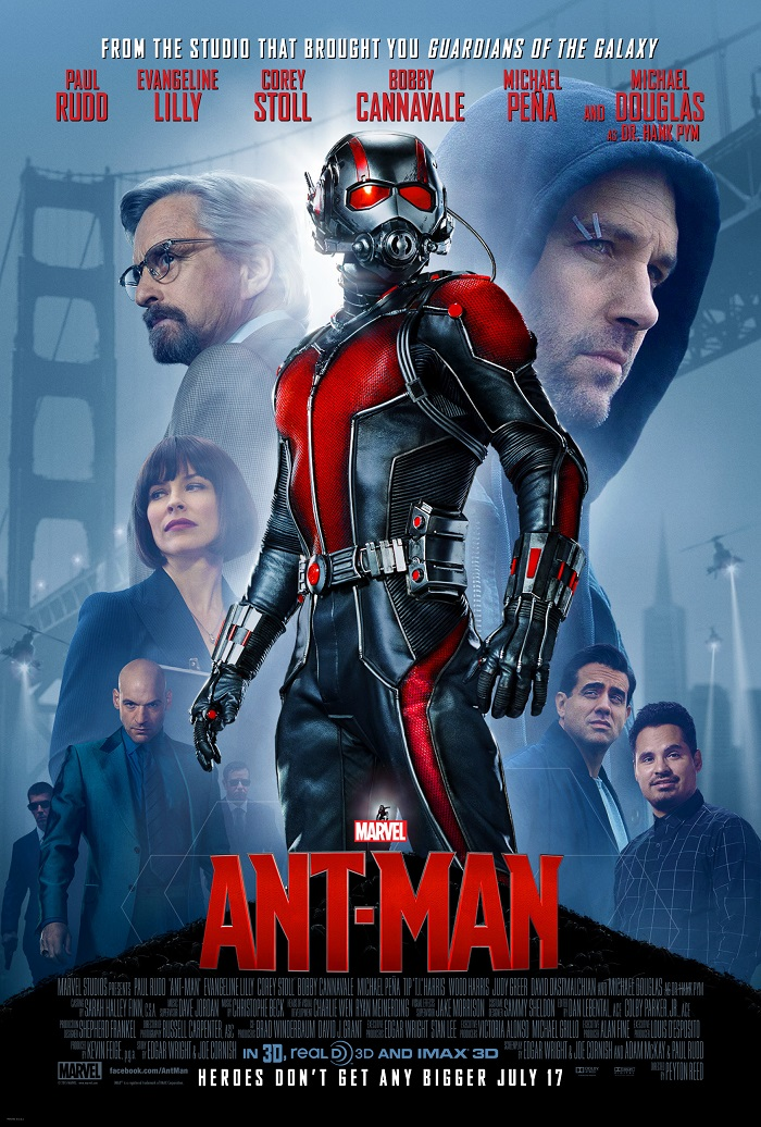Marvels Ant Man poster