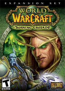 World of Warcraft The Burning Crusade coverart