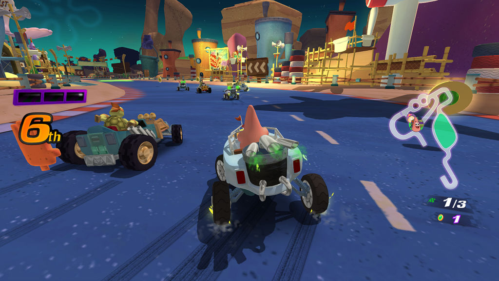 nickelodeon kart racers racing 1
