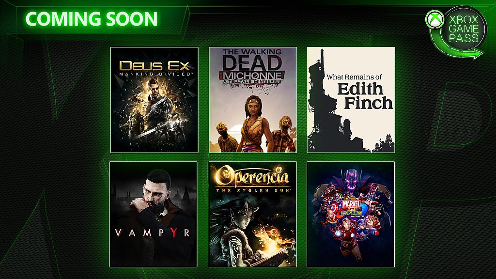 xbox game pass march april
