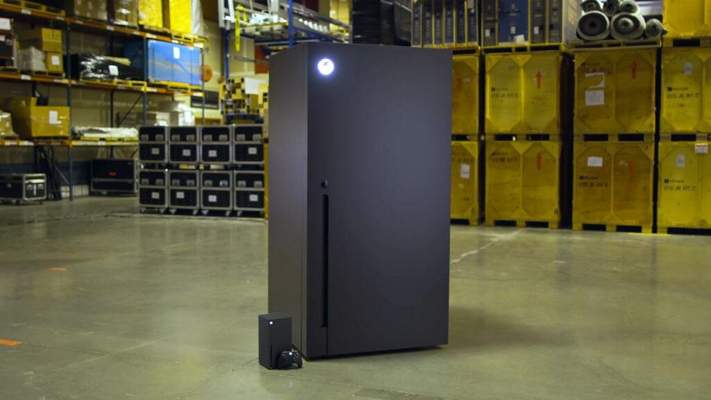 Η Microsoft θα ξεκινήσει την παραγωγή μίνι ψυγείων σε σχήμα Xbox Series X