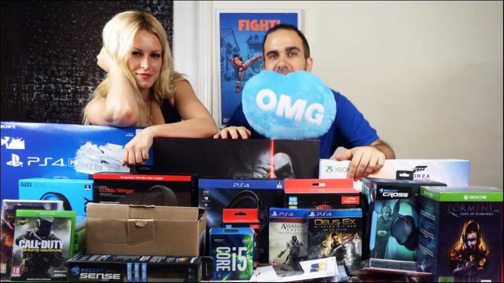 Διαγωνισμός 12 χρόνια GameWorld