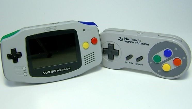 Game Boy Advance στα χρώματα του SNES