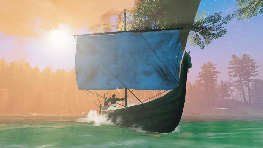 Παίκτης στο Valheim απογείωσε ένα longship στα σύννεφα