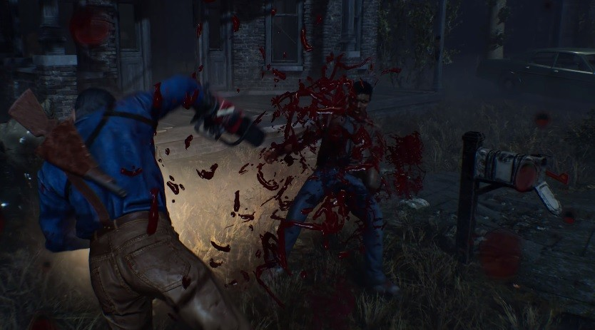 Evil Dead: The Game gameplay video