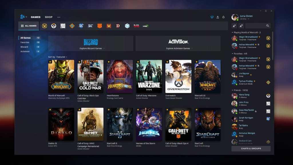 Battle.net update: Κάντε φίλους απ' όλο τον κόσμο, τα games είναι ακόμη region-locked