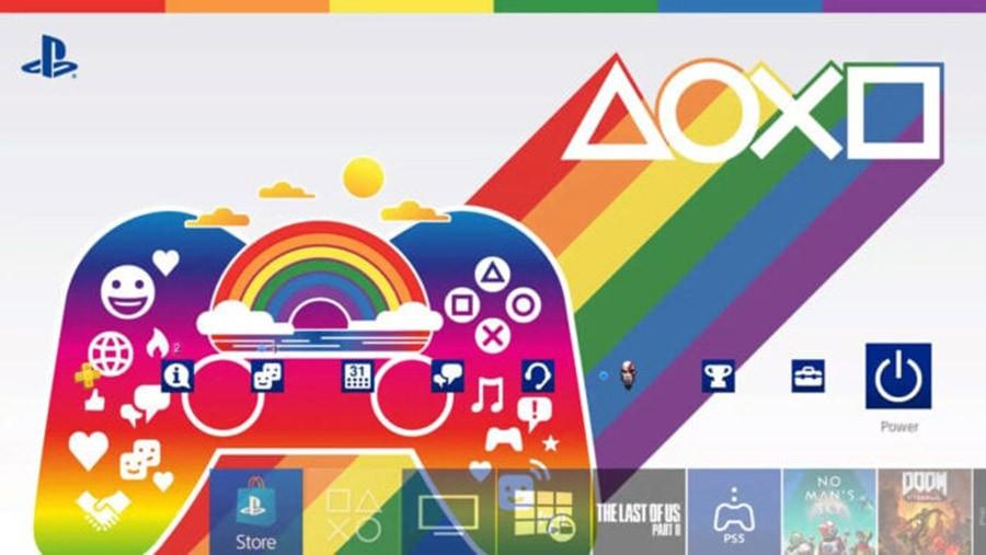 Η Sony ανακοίνωσε προτεινόμενα LGBTQ+ games και pride PS4 theme