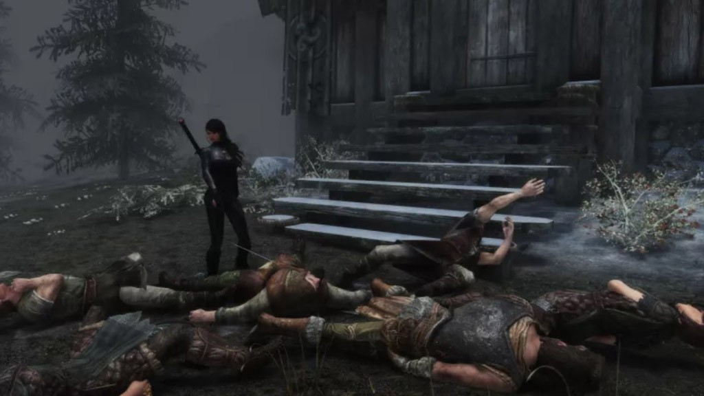 Παίκτης του Skyrim σκότωσε τα πάντα στο παιχνίδι, από εχθρούς και ζώα, μέχρι τους NPC