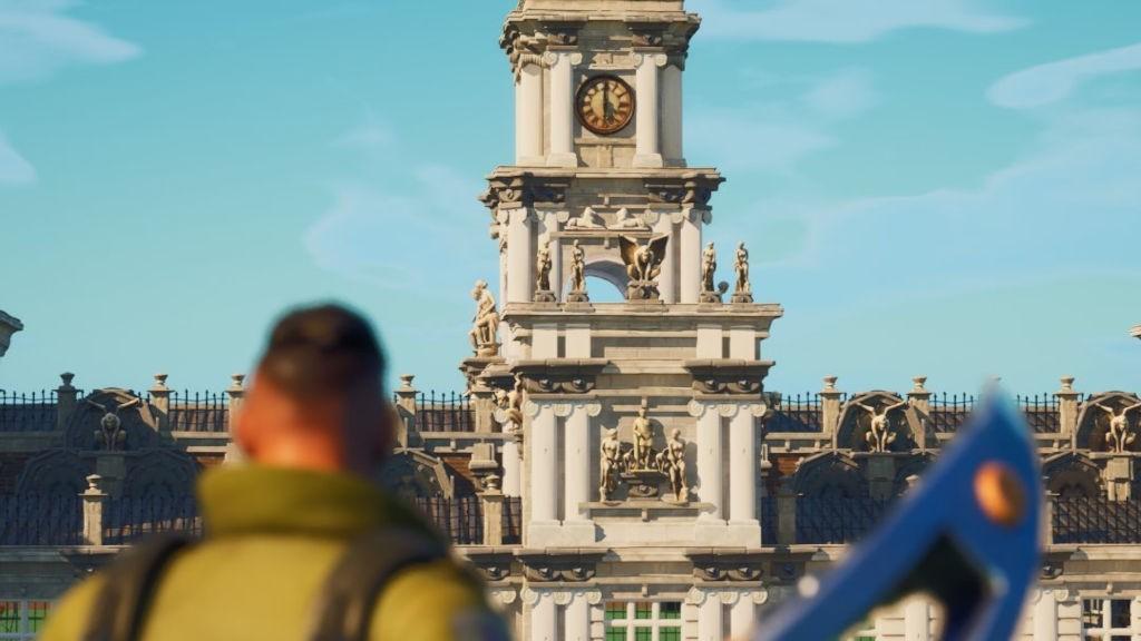 Παίκτης έφτιαξε την έπαυλη της Lara Croft στο Fortnite