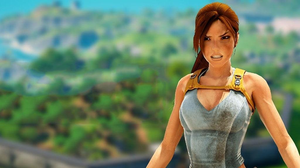 Η Lara Croft στο Fortnite