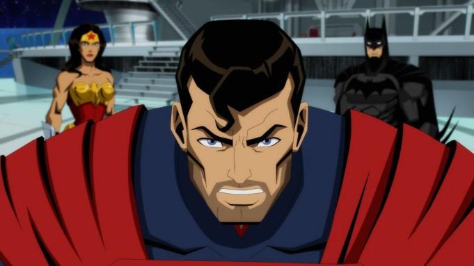 Animated ταινία Injustice: Οι voice actors