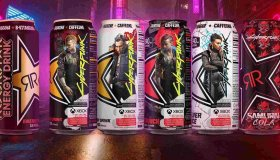 Cyberpunk 2077 Energy Drinks