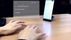 SelfieType: Αόρατο πληκτρολόγιο από την Samsung