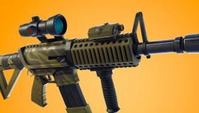 Fortnite patch v4.4 με Thermal Scope