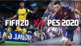 Press Start: eFootball PES20 vs. FIFA20