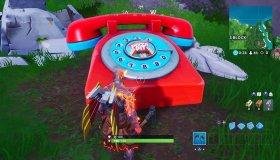 Fortnite: Γιγάντιο παλιό τηλέφωνο, πιάνο και ψάρι