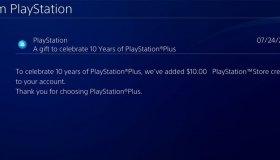 Η Sony χάρισε 10 δολάρια σε ορισμένα μέλη της για τα 10 χρόνια PS Plus