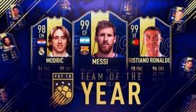 FIFA19: Line-up και κάρτες FUT για την ομάδα της χρονιάς