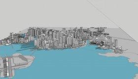 Cyberpunk 2077: 3D μακέτα της Night City