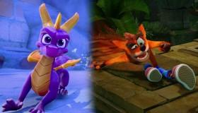 Spyro + Crash Game Bundle