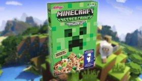 H Kellogg's θα κυκλοφορήσει δημητριακά Minecraft