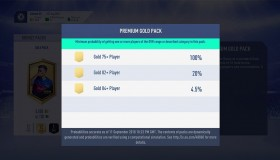 Fifa 19: 3,5% πιθανότητα για 83+ παίκτη, ούτε 1% για Ones to Watch