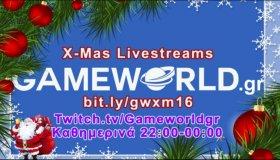 GameWorld X-Mas Livestreams 2016