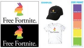 """Η Epic Games σας επιτρέπει να πουλήσετε μπλούζες κι αυτοκόλλητα με μότο """"Free Fortnite"""""""