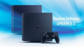 PS4 Firmware update v5.0