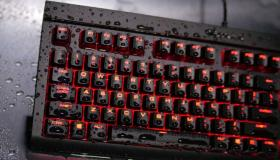 Corsair K68 keyboard