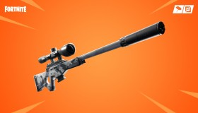 Fortnite v7.10: Supressed Sniper Rifle