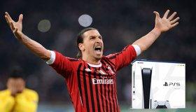 O Zlatan Ibrahimovic δώρισε από ένα PS5 στους συμπαίκτες του στην AC Milan
