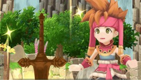Secret of Mana remake gameplay video
