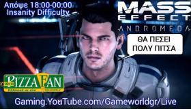 Mass Effect: Andromeda Insanity Livestream