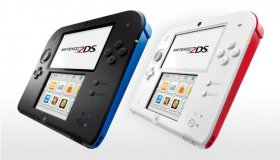 Nintendo 2DS Crystal Red και Blue