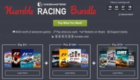 Humble Bundle: Codemasters Racing games