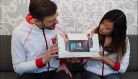 Nintendo Switch official unboxing
