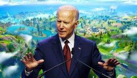 Custom χάρτης στο Fortnite για την προώθηση της προεκλογικής εκστρατείας του Joe Biden