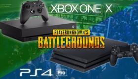 PUBG: PS4/PS4 Pro vs Xbox One