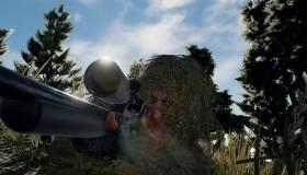 PlayerUnknown's Battlegrounds Ghillie Crossing mode