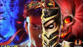 Street Fighter vs Mortal Kombat crossover