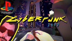 Developer φτιάχνει demake του Cyberpunk 2077 για το PS1