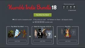 Humble Indie Bundle 18