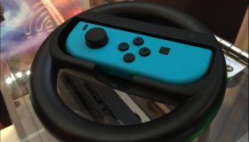 Nintendo Switch steering wheel controller