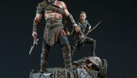 God of War: Αγαλματίδιο του Kratos και του γιου του