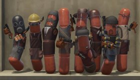 Meat Fortress: Team Fortress για VR με παίκτες hot dogs
