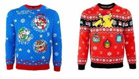 Χειμερινά πουλόβερ από την Nintendo