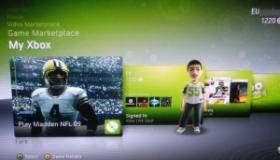 Xbox Live dashboard beta