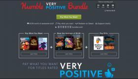Humble Very Positive Bundle